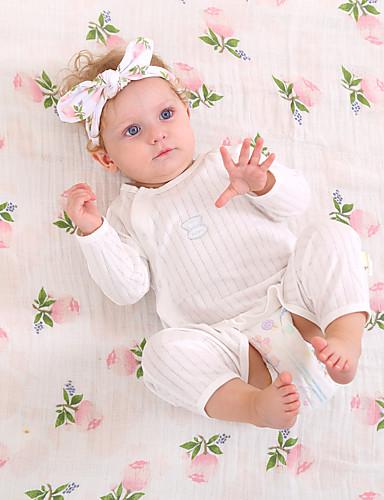 Hårtilbehør Barn Alle årstider 100 % bomull Grønn Rosa Gul Lyseblå