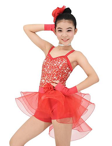 4de38134a Kids  Dancewear   Ballet Outfits Performance Organza   Lycra Sequin ...