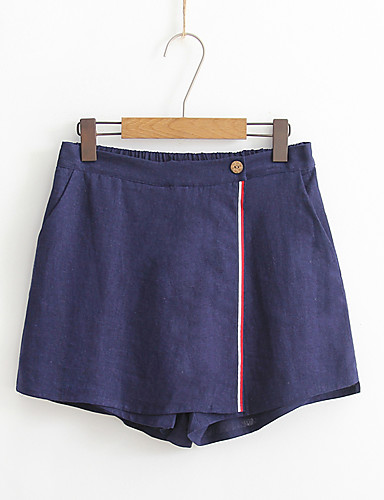 Women's Daily Going out Above Knee Skirts
