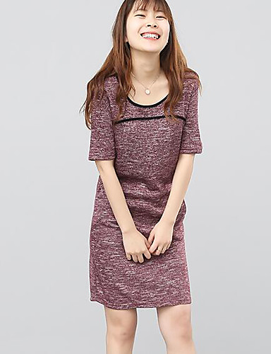 Women's Daily A Line Sheath Dress