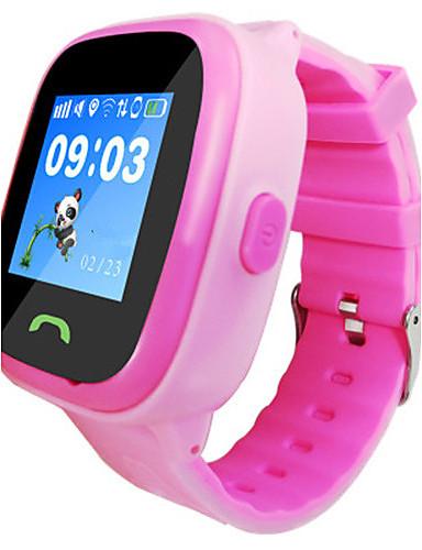 Bambini Smart Watch Digitale Gomma Banda Blu Rosa #06035767 Rendere Le Cose Convenienti Per Le Persone
