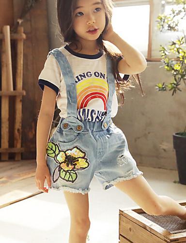Girls' Solid Shorts Summer