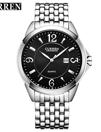 Homens Único Criativo relógio Relógio de Pulso Relógio Elegante Relógio de Moda Relógio Esportivo Chinês Quartzo Calendário Impermeável