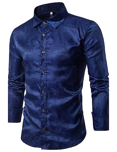 Men's Chinoiserie Shirt - Check Classic Collar