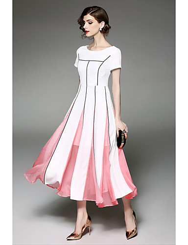 Women's Party Going out Holiday Casual Sheath Swing Dress