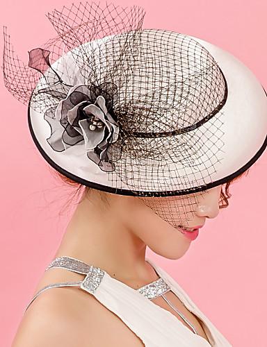 여성용 모자 / 전통적 / 빈티지 / 시크&모던 버킷 햇 - 솔리드