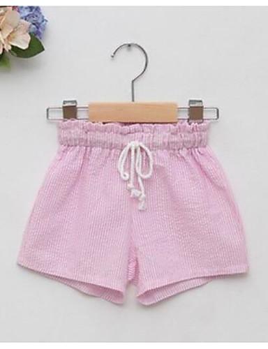 Mädchen Shorts Streifen Baumwolle Sommer
