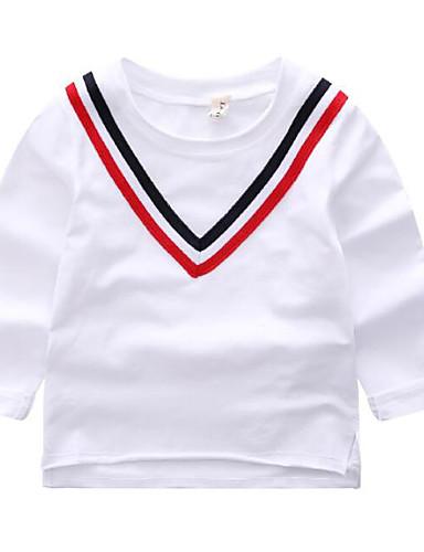 Jungen T-Shirt Andere Einfarbig Andere Herbst Kurzarm