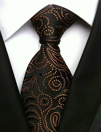 Men's Work Basic Necktie - Print