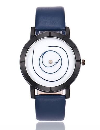 Men's Wrist Watch Quartz PU Band Analog-Digital Casual Fashion Black / White / Blue - Light Blue Khaki Dark Green One Year Battery Life / Jinli 377