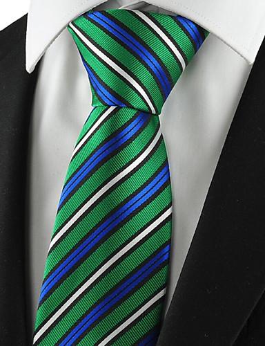 Men's Polyester Necktie - Striped