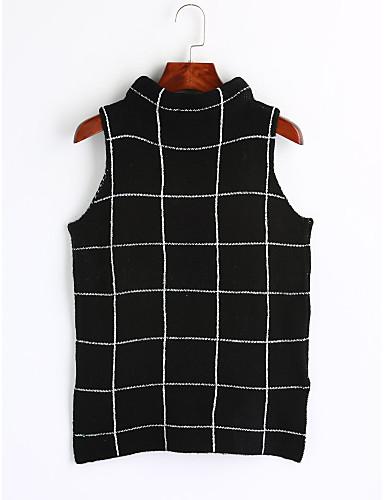 Women's Pullover - Striped Crew Neck