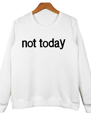 Women's Holiday Cotton Sweatshirt - Letter