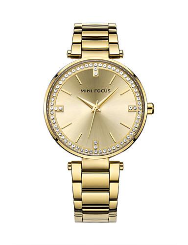 Damen Armbanduhren für den Alltag / Modeuhr / Kleideruhr Edelstahl Band Freizeit / Elegant