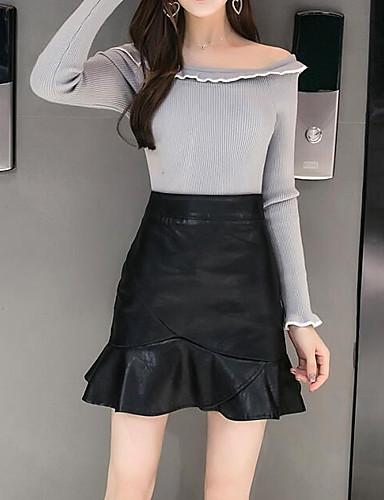 Damen Mini Röcke Bodycon
