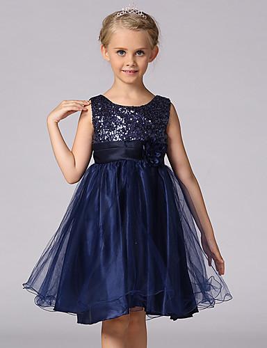 Κορίτσια Φόρεμα Πολυεστέρας Άλλα Patchwork Εξόδου Άνοιξη Καλοκαίρι Φθινόπωρο Αμάνικο