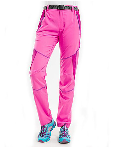 cheap Outdoor Clothing-Women's Hiking Pants Outdoor Waterproof Windproof Quick Dry Ultraviolet Resistant Spring Summer Fall Pants / Trousers Ski / Snowboard Winter Sports Fuchsia Sky Blue Pink / Purple XL XXL XXXL