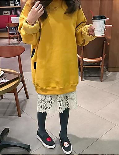 Damen Pullover Druck Baumwolle