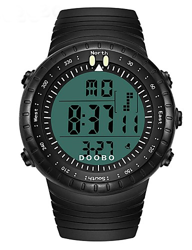 Męskie Dla dzieci Zegarek cyfrowy Zegarek na nadgarstek Modny Sportowy Na codzień Chiński Cyfrowe Kalendarz Chronograf Wodoszczelny