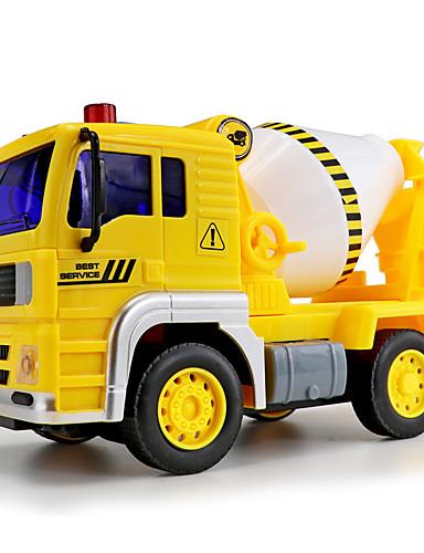 Недорогие Игрушечные машинки и модели-Игрушечные машинки Игрушечные наборы Обучающая игрушка Строительная техника Люди Транспорт Автомобиль Новый дизайн Другие материалы Детские Мальчики Девочки Игрушки Подарок