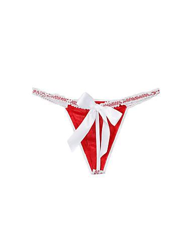 310c015b2 bloqueio de cor esticável normal das mulheres g-strings   thongs calcinha  médio