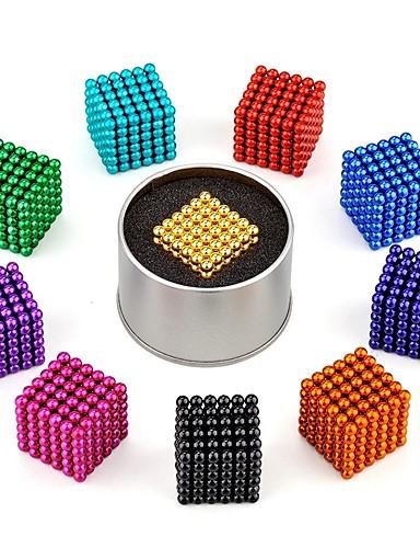 ราคาถูก Toys & Hobbies-216 pcs 3mm Magnetiske leker ลูกบอลแม่เหล็ก Building Blocks ซูเปอร์แข็งแกร่งหายากของโลกแม่เหล็ก Neodymium Magnet Puzzle Cube Neodymium Magnet