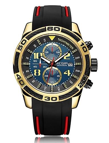 2633a3ee4d5 Homens Crianças Relógio de Pulso Relógio Elegante Relógio de Moda Suíço  Quartzo Calendário Cronógrafo Impermeável Noctilucente Silicone de 6445807  2019 por ...