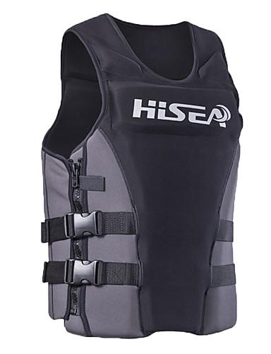 baratos Roupas de Mergulho & Camisas de Proteção-HISEA® Jaquetas Salva-Vidas Materiais Leves Neoprene Natação Mergulho Snorkeling Blusas para Adulto / Com Stretch
