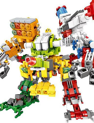 povoljno Kocke za slaganje-Kocke za slaganje Građevinski set igračke Poučna igračka Super Heroes Ratnik Ljudi kompatibilan Legoing Lijep Ručno izrađeni Anime Dječaci Djevojčice Igračke za kućne ljubimce Poklon