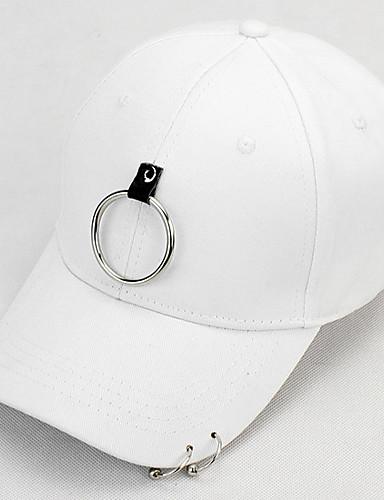 לבן שחור כובע בייסבול כותנה אביב, סתיו, חורף, קיץ יום יומי