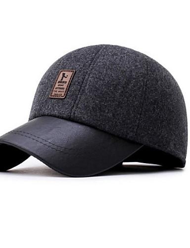שחור כחול נייבי אפור כובע בייסבול כותנה חורף סתיו יום יומי