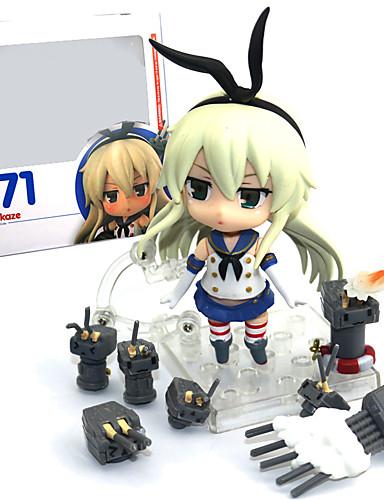 halpa Cosplay ja rooliasut-Anime Toimintahahmot Innoittamana Kantai Collection Shimakaze PVC 9.5 cm CM Malli lelut Doll Toy