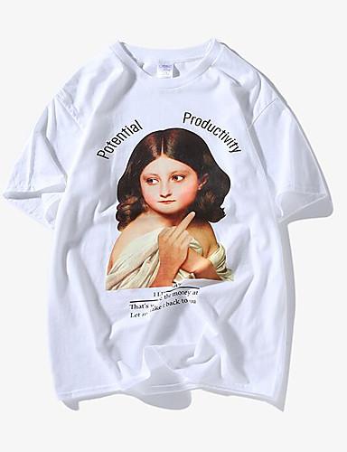 T-shirt Męskie Podstawowy Portret