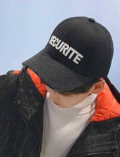 כובע בייסבול - אחיד כותנה בגדי ריקוד גברים / חמוד