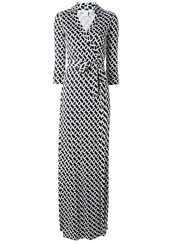 צווארון V מקסי שמלה חולצה כותנה בסיסי בגדי ריקוד נשים