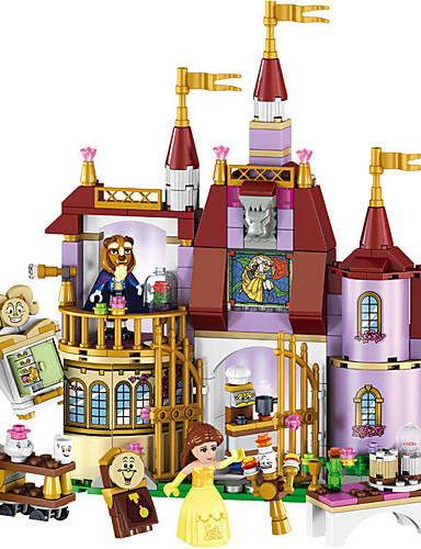 povoljno Kocke za slaganje-LELE Kocke za slaganje Vojni blokovi Građevinski set igračke 379 pcs Cvjetni Tema Tema bajka Arhitektura kompatibilan Legoing Pogled na grad Prirodne ljepote Dječaci Djevojčice Igračke za kućne