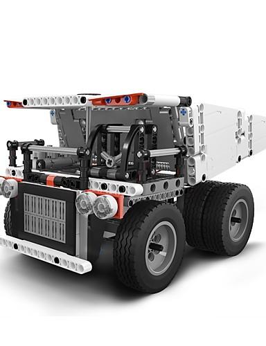 billige Byggeblokker-Xiaomi Byggeklosser Konstruksjonssett Leker Pedagogisk leke 530 pcs kompatibel Legoing Foreldre-barninteraksjon Truck Gutt Jente Leketøy Gave