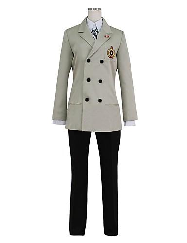 povoljno Anime kostimi-Inspirirana Persona 5 Goro Akechi Anime Cosplay nošnje Japanski Cosplay Suits Other Dugih rukava Kaput / Shirt / Hlače Za Uniseks / Rukavice