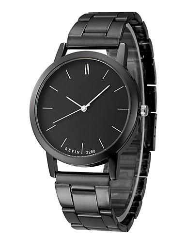 Erkek Bilek Saati Paslanmaz Çelik Siyah 30 m Kronograf Analog Moda - Gümüş Siyah / Beyaz Siyah / Gümüş Bir yıl Pil Ömrü / SSUO LR626