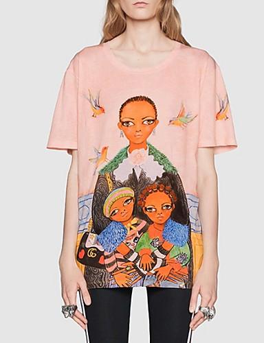 T-shirt Damskie Podstawowy Portret