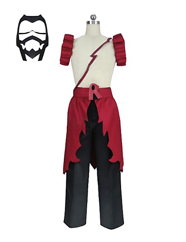 povoljno Anime kostimi-Inspirirana Moja herojska akademija Todoroki Shoto / Bakugou Katsuki Anime Cosplay nošnje Japanski Cosplay Suits Other Bez rukávů Hlače / Pregača / Mask Za Uniseks