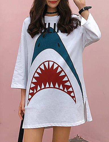 T-shirt Damskie Bawełna Zwierzę