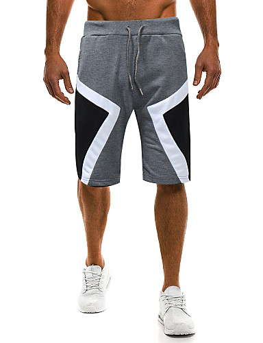 Męskie Podstawowy Spodnie dresowe / Typu Chino Spodnie Wielokolorowa