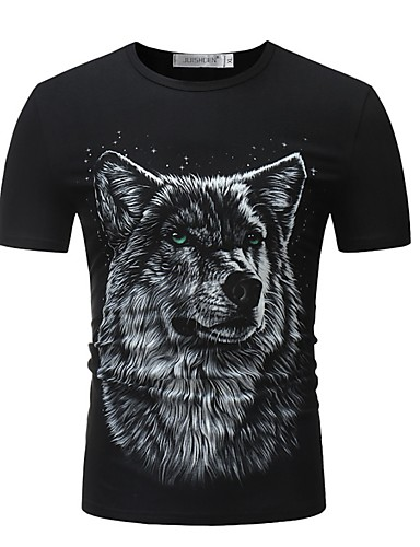 Bărbați Tricou Animal Lup
