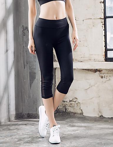 Pentru femei Sport Legging - Mată Talie medie