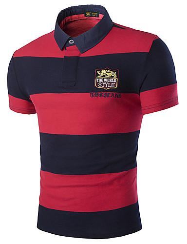 Bărbați Tricou De Bază - Bloc Culoare