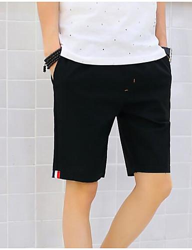 Bărbați De Bază Pantaloni Chinos / Pantaloni Scurți Pantaloni Mată