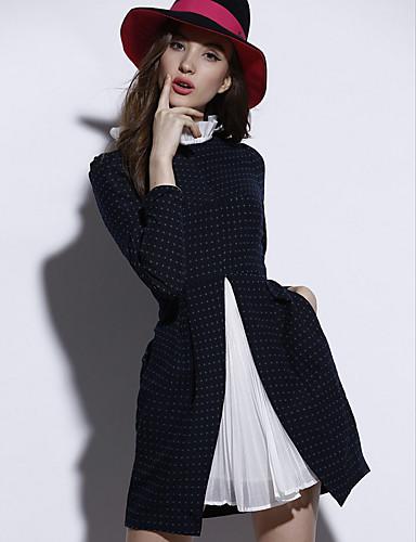 Pentru femei Ieșire Zvelt Bodycon Rochie Mată Stil Nautic Talie Înaltă Mini