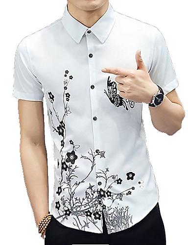 Majica Muškarci Dnevno Cvjetni print / Kratkih rukava