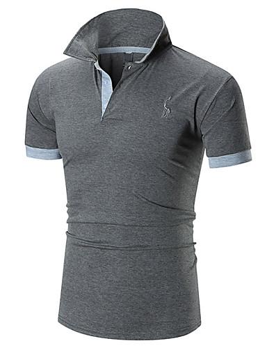 Majica s rukavima Muškarci Dnevno Geometrijski oblici / Color block
